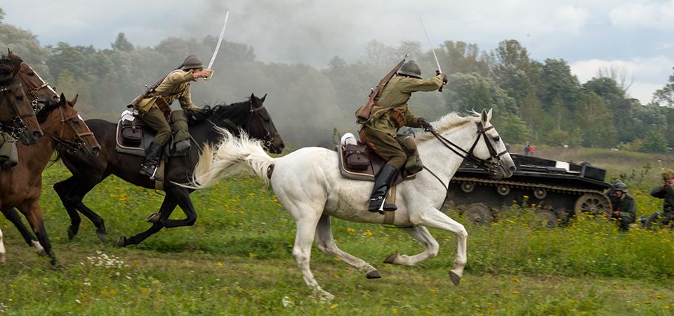 szarża kawalerii