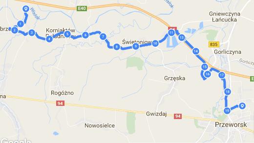 Green Velo Białobrzegi - Przeworsk